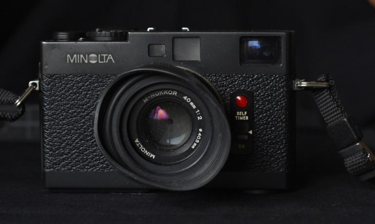 Sam Tata's Minolta CLE